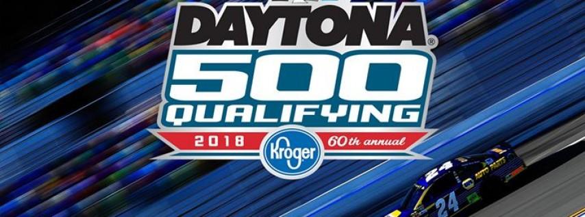 Daytona 500 Qualifying By Kroger