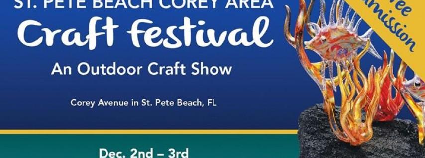 23rd Annual St. Pete Beach Corey Area Craft Festival