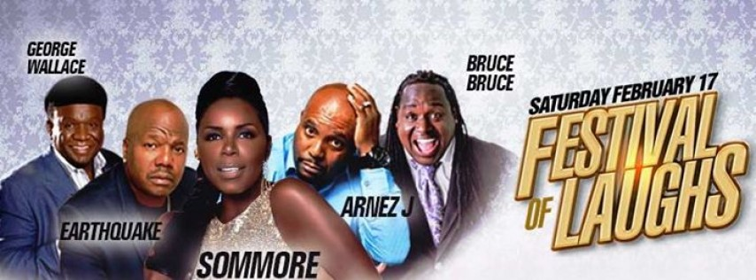 Sommore, Arnez J, Earthquake, George Wallace, and Bruce Bruce