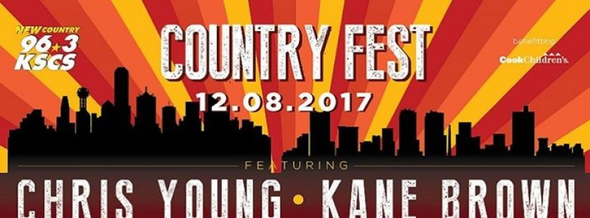 KSCS Country Fest '17 featuring Chris Young