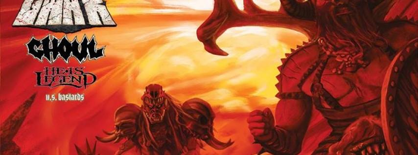 GWAR - The Blood of Gods Tour