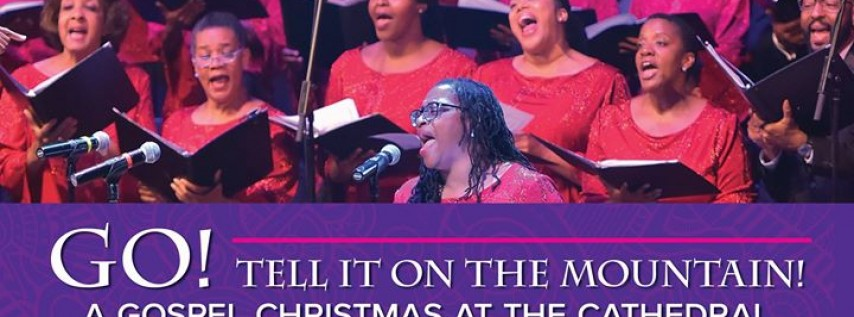 A Gospel Christmas at the Cathedral