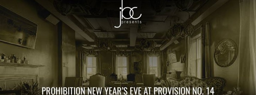 3rd Annual Prohibition NYE 2018