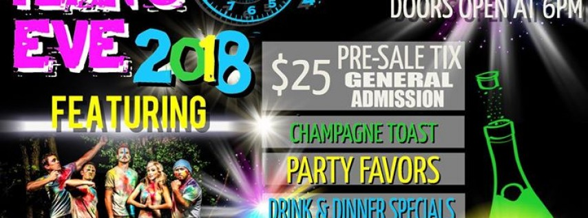 Champions NYE Party featuring Vinyl Rhino