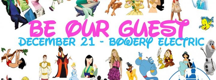 Be Our Guest – A Disney DJ Night at Bowery Electric