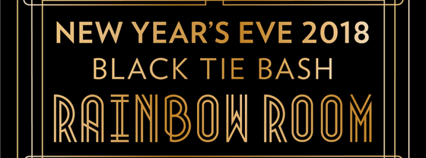Rainbow Room | New Year's Eve Black Tie Bash