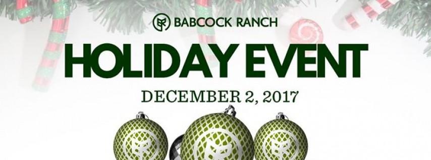 Holiday Event at Babcock Ranch