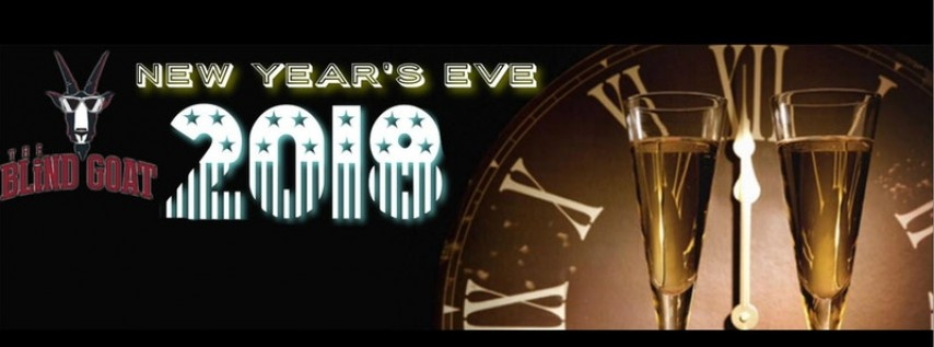 New Year's Eve 2018 at The Blind Goat