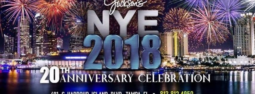 Jackson's Bistro NYE 2018 Celebration