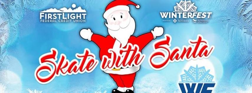 FirstLight FCU Presents Skate with Santa