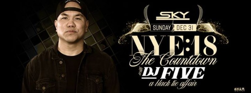 NYE: The Countdown at Sky ft. DJ Five