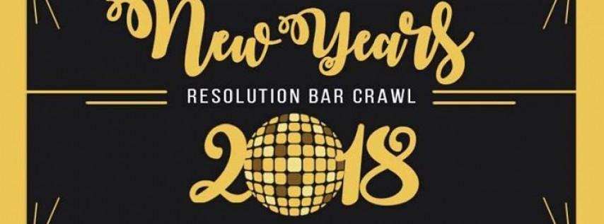 New Year's Resolution Bar Crawl ~ Charleston SC