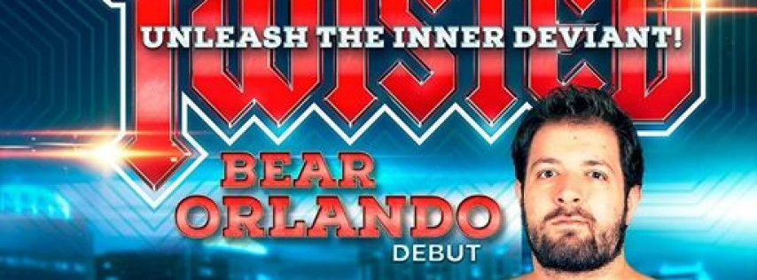 Twisted Bear Orlando, Direct from London