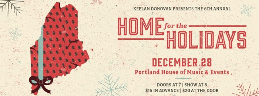 Keelan Donovan's Home for the Holidays