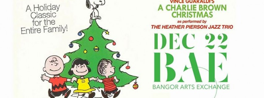 Heather Pierson Jazz Trio Presents A Charlie Brown Christmas Live At BAE