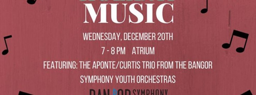 Holiday Music: The Aponte/Curtis Trio