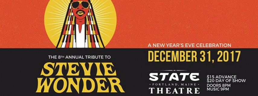 NYE: 8th Annual Tribute To Stevie Wonder w/ Kenya Hall & Friends