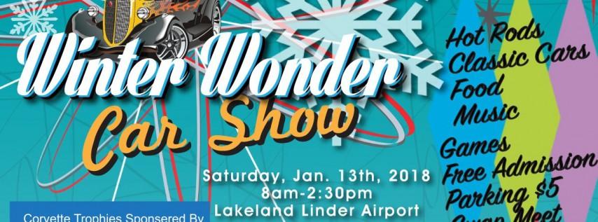Central Florida Street Rods Winter Wonder Car Show Tampa FL Jan - Lakeland car show 2018