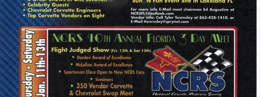 NCRS Winter Regional Corvette Display and Swap Meet