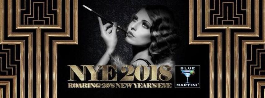 Blue Martini Boca Raton Roaring 20's New Year's Eve! 2018
