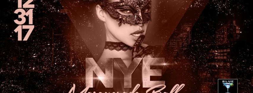 Blue Martini Orlando New Year's Eve 2018 Masquerade Ball
