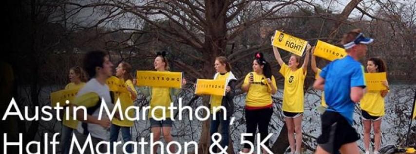 2018 Austin Marathon, Half Marathon & 5K with Team LIVESTRONG