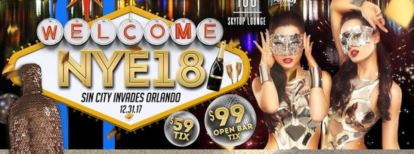 One80 Skytop Lounge New Year's Eve 2018
