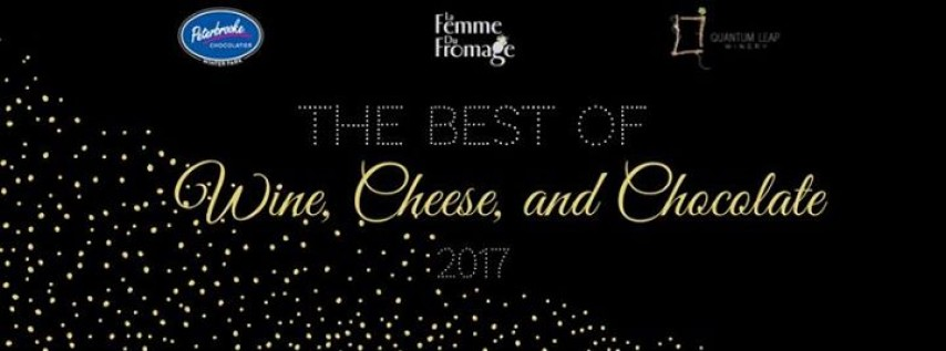 The Best of 2017's Wine, Cheese, and Chocolate: Perfectly Paired