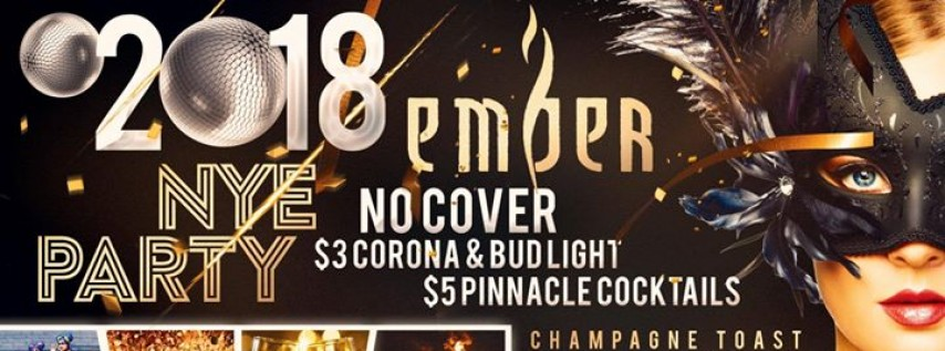 Ember Orlando NYE 2018 Party - FREE Cover