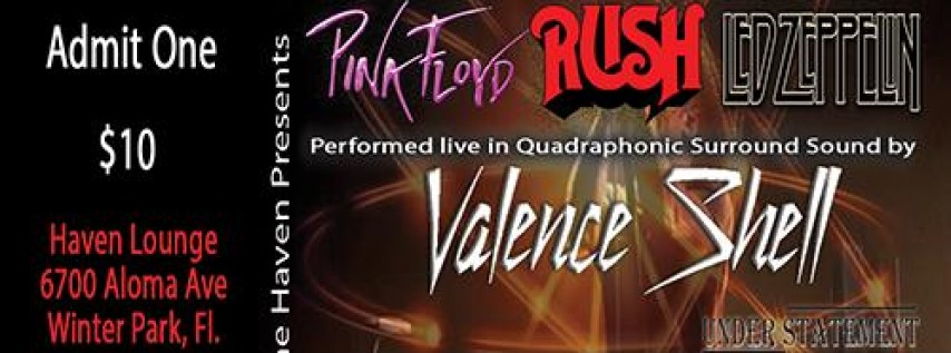 Pink Floyd, Rush, Led Zep., Performed Live in Quadraphonic Sound