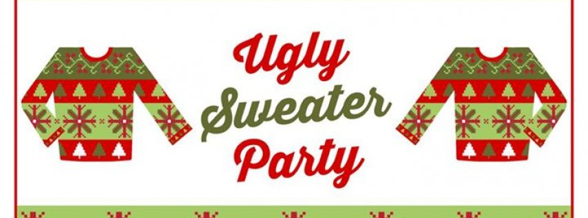 Ugly Sweater Party!! Bling bling!!