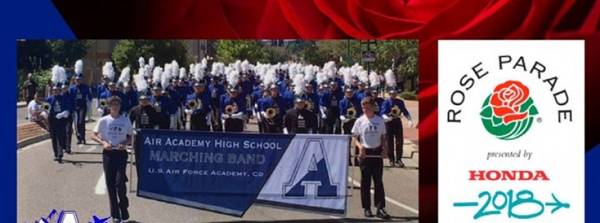 AAHS marches in the 2018 Rose Parade®