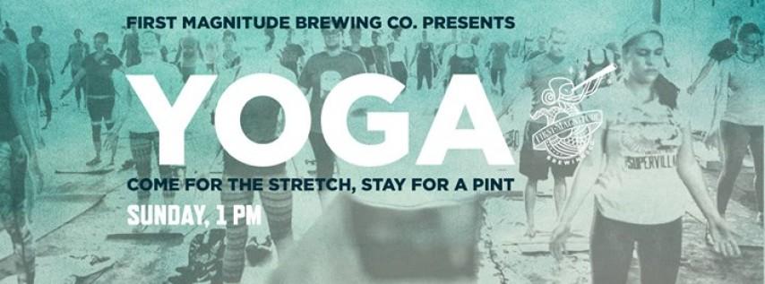 Brewery Yoga with Sanity Gurus!