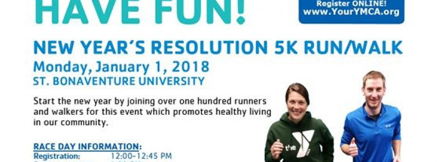 2018 New Year's Resolution 5K Run/Walk