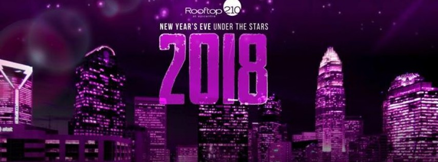New Years Eve 2018 at Rooftop 210