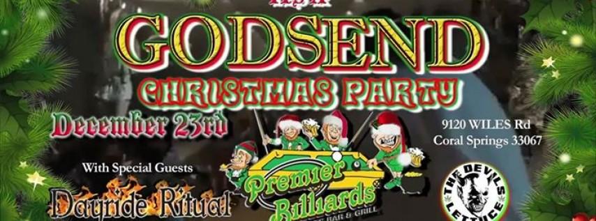 Godsend Xmas Party at Premier Billiards