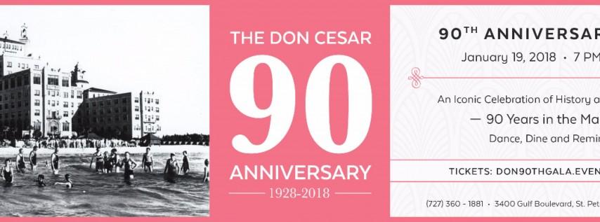 Don Cesar 90th Anniversary Gala