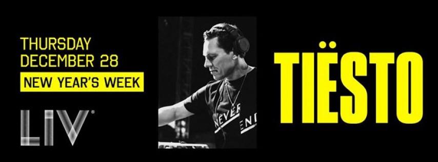 Tiësto New Year's Week LIV - Thurs. December 28th
