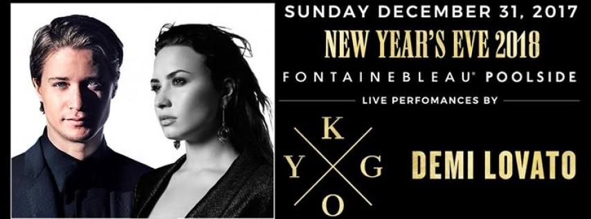 Kygo & Demi Lovato NYE Fontainebleau Poolside - Sun. Dec 31st