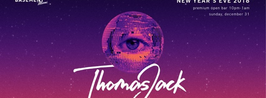 New Year's Eve 2018 with Thomas Jack