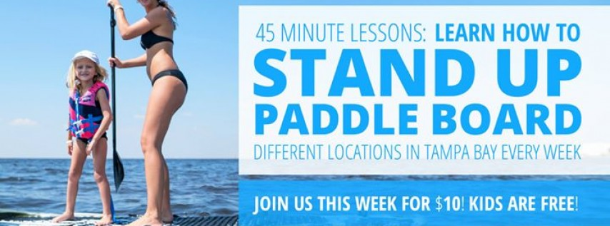 SUP for TOTAL Beginners in Tampa: Learn to Paddle Board in Just 1 Hour!