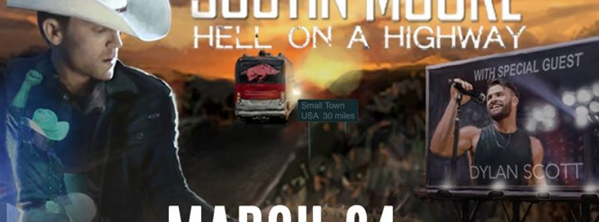 Justin Moore: Hell On A Highway Tour