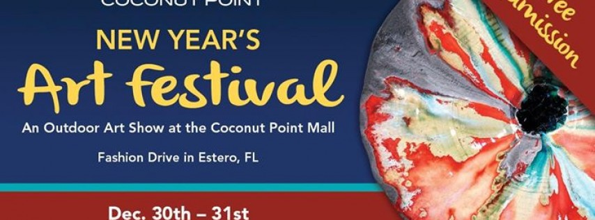 7th Annual Coconut Point New Year's Art Festival