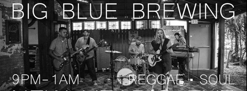 The Freecoasters New Year's at Big Blue Brewing!