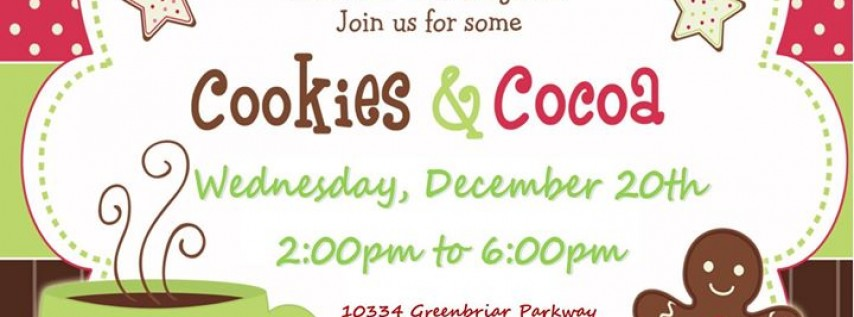 Cookies & Cocoa Open House