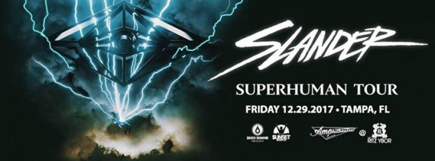 Slander at The Ritz Ybor – New Year's Eve Weekend – Tampa, FL
