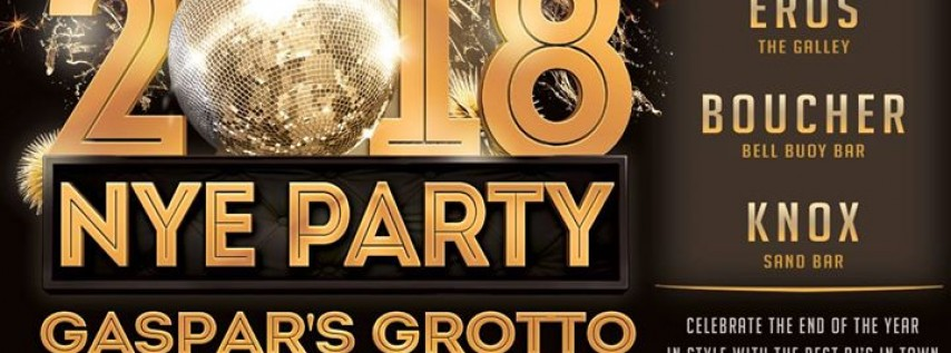 NYE Party at Gaspar's Grotto