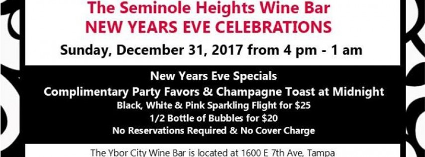 New Years Eve Celebration at the Seminole Heights Wine Bar ...