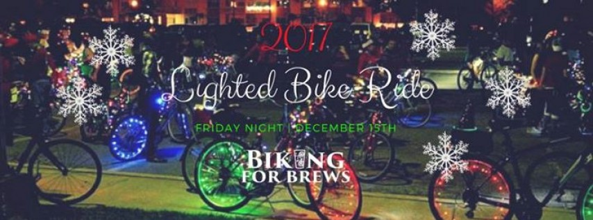 Biking for Brews St Pete: 5th Annual Lighted Holiday Bike Parade