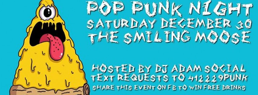 Pop Punk Night Year-End Bash